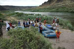 Snake River rafting trip