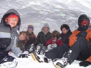 Feb08 Snow Cave