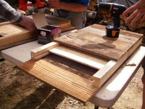 building a bat box Joh