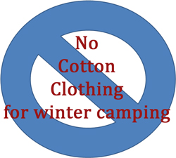 no cotton