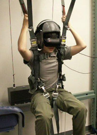 Parachute 3-D training