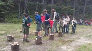 games at Camp Meriwether
