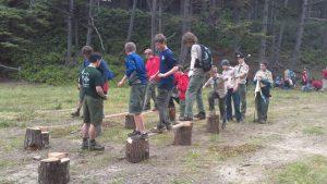 games at Camp Meriwether